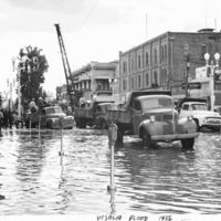 Flood in Visalia, California