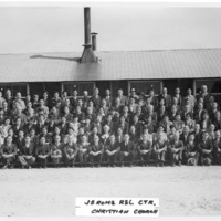 Church Congregation at Jerome Relocation Center, Denson, Arkansas