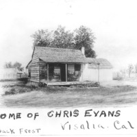 Home of Train Robber Chris Evans