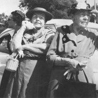 Amelia Williams and Jennie Gagliardo
