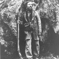 Galen Clark in Mariposa Grove