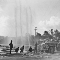 Coalinga Fire Department pressure test