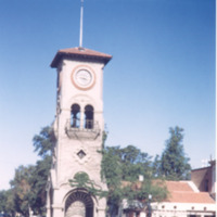 Clock Tower and Chamber of Commerce