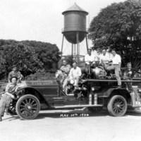 Coalinga Fire Department May 10, 1926