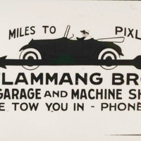 Old Flaming Bros. Advertisement Date Unknown