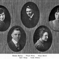 Tulare High School Class of 1918