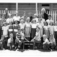 Hornitos School, 1950