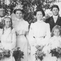 Carter and Evert wedding portrait