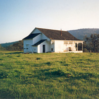 Old schoolhouse, Bear Valley