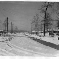 Winter at Jerome Relocation Center in Denson, Arkansas
