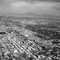 Bakersfield from the air