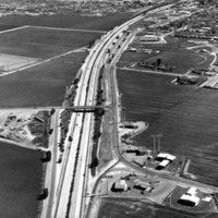 Highway 99 in Tulare circa 1950