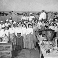 Mariposa Centennial kitchen crew
