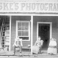 Fiske's photography studio, Yosemite