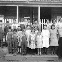 Hornitos School, circa 1911