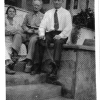 Andrew Ferguson with wife and son Clarence