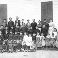 White Rock School, circa 1890