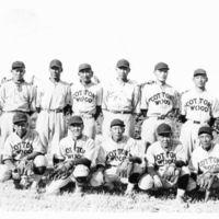 Yoshikazu Morioka and Cottonwood baseball team