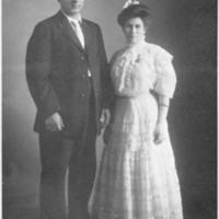 Bauer and Busano wedding portrait