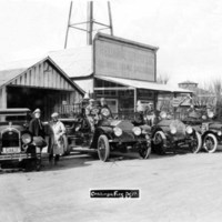 Coalinga Fire Department 1925