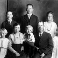 Rising family portrait