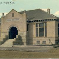 Visalia Free Library, Visalia, Calif.
